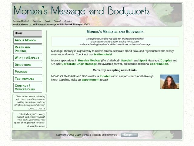 Monica's Massage and Bodywork