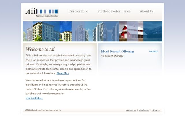 screenshot of Aii Properties