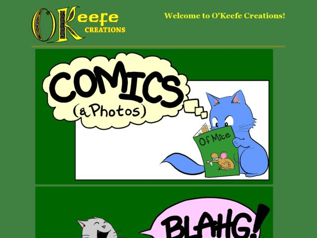 O'Keefe Creations Comics