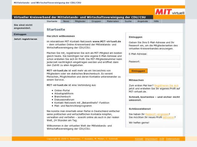Virtueller Kreisverband der Mittelstandsvereinigung der CDU/CSU