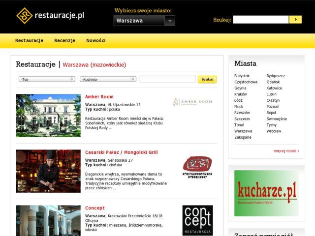 Restaurant Catalogue
