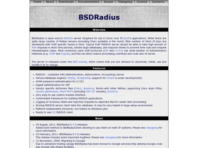 BSDRadius