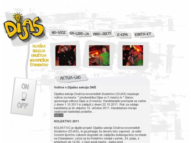 screenshot of DijaS