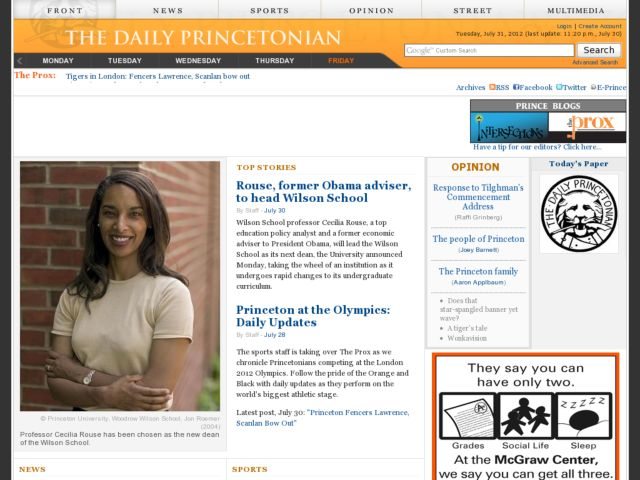 The Daily Princetonian