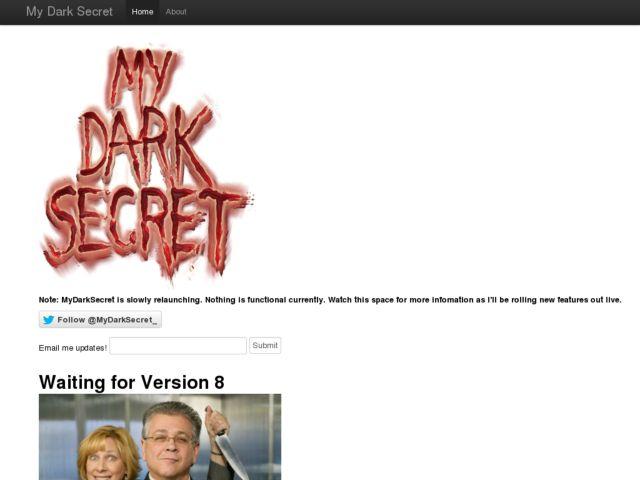 MyDarkSecret