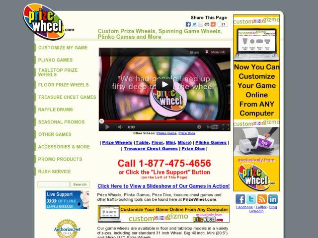 PrizeWheel.com