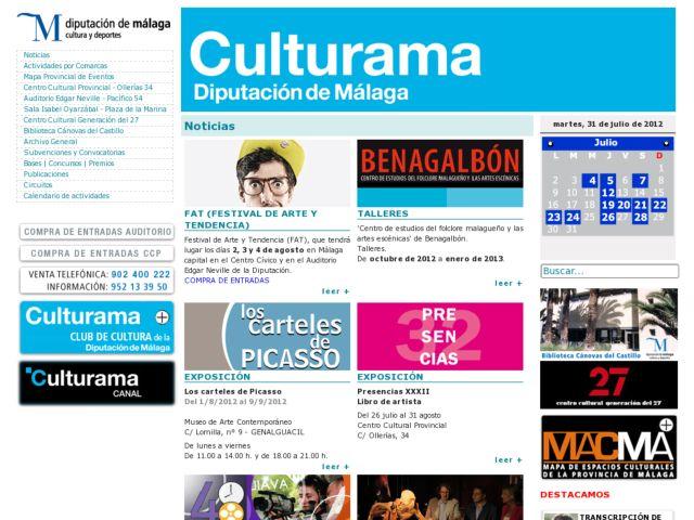 Área de Cultura. Diputación de Málaga
