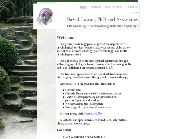 David Cowan, PhD and Associates