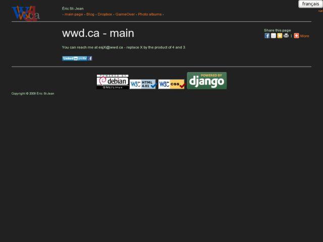 screenshot of wwd