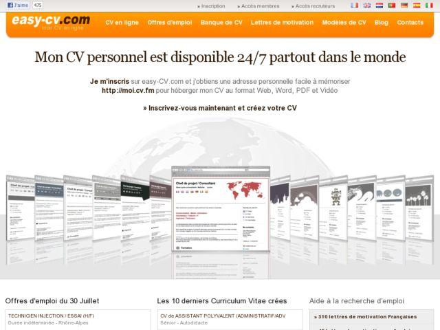 Easy-CV.com