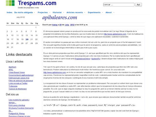 trespams.com