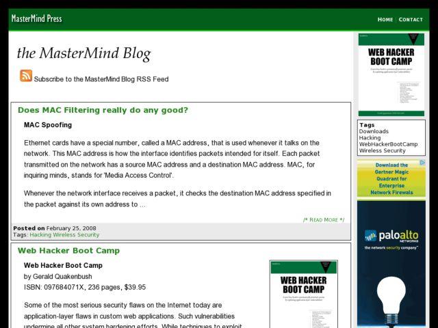 MasterMind Blog