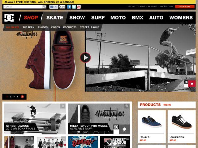 DC Skateboarding.tv