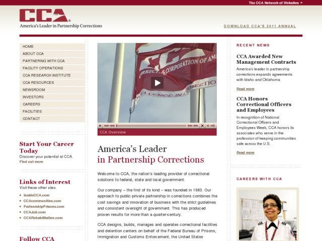 Corrections Corporation of America