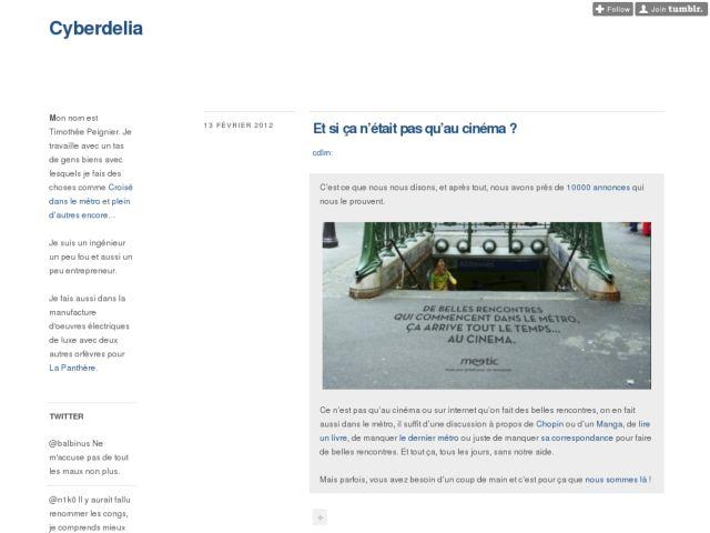 screenshot of Cyberdelia