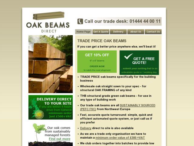 Oak Beams Direct