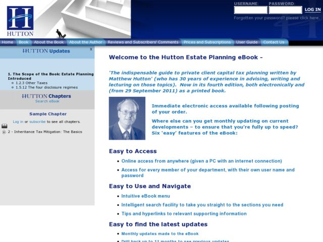 Hutton Estate Planning eBook