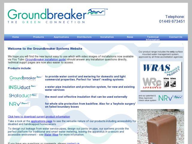 screenshot of Groundbreaker