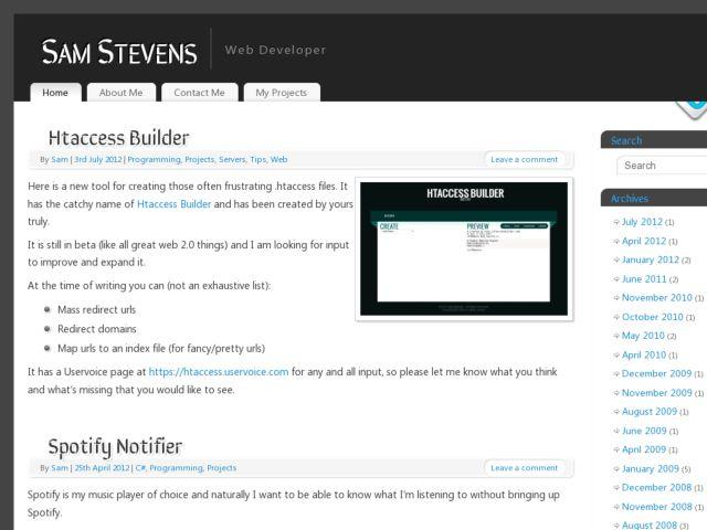 screenshot of Sam @ Xnet