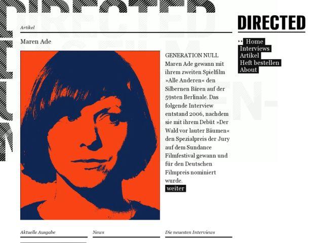 directed magazine