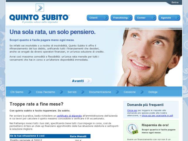 screenshot of Quintosubito