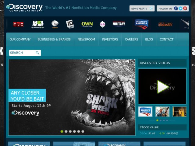 Discovery Communications Corporate Site