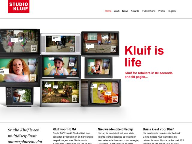 screenshot of Studio Kluif