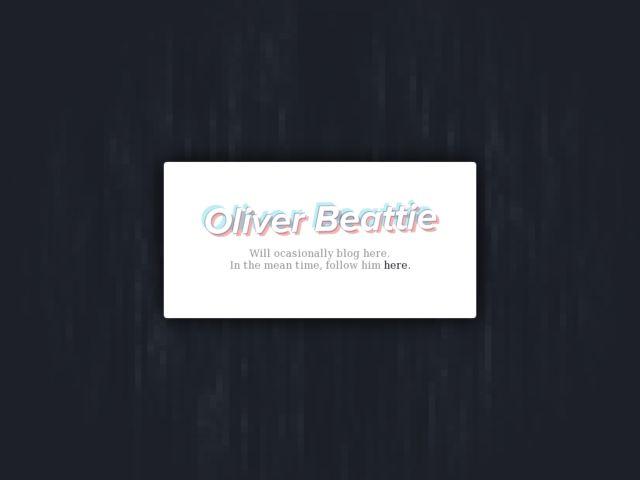 oBeattie