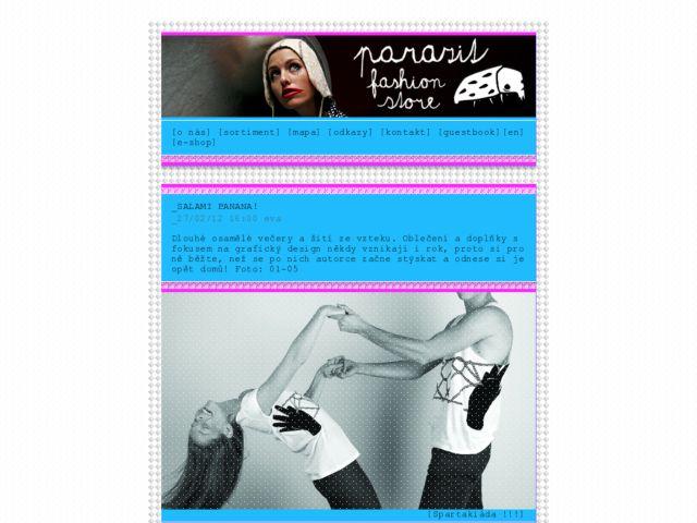screenshot of .,Parazit Fashion Store,.