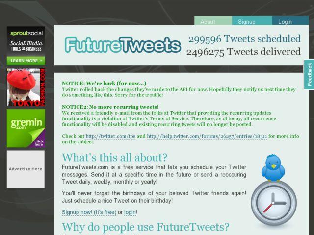 FutureTweets