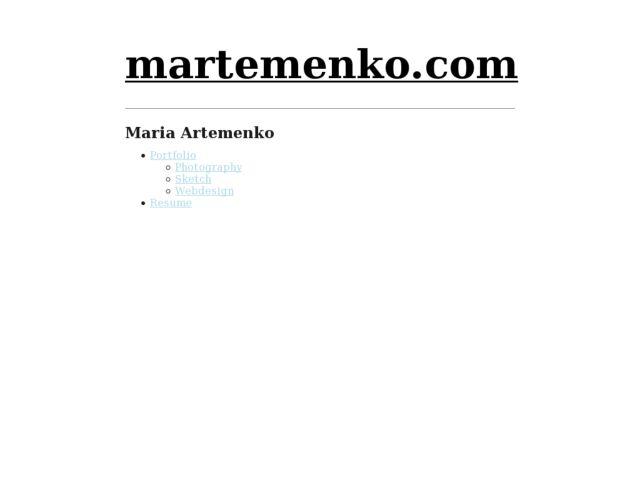 Maria Artemenko