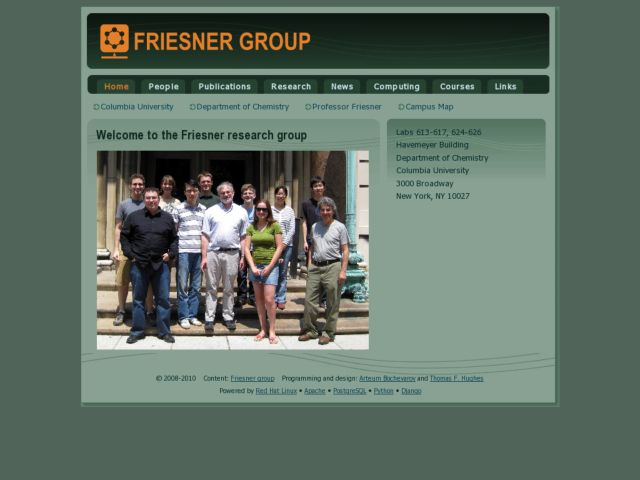 The Friesner group