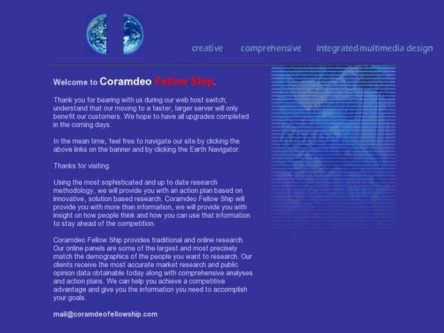 Coram Deo Fellowship