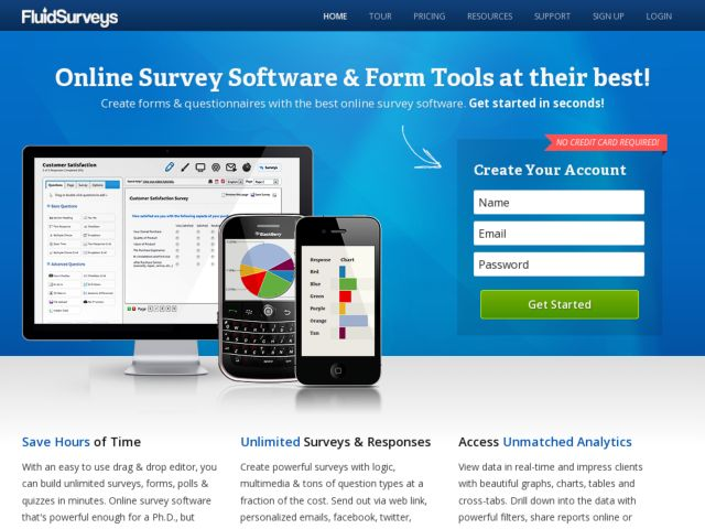 fluidSurveys - Make Online Surveys