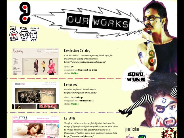screenshot of goroworks