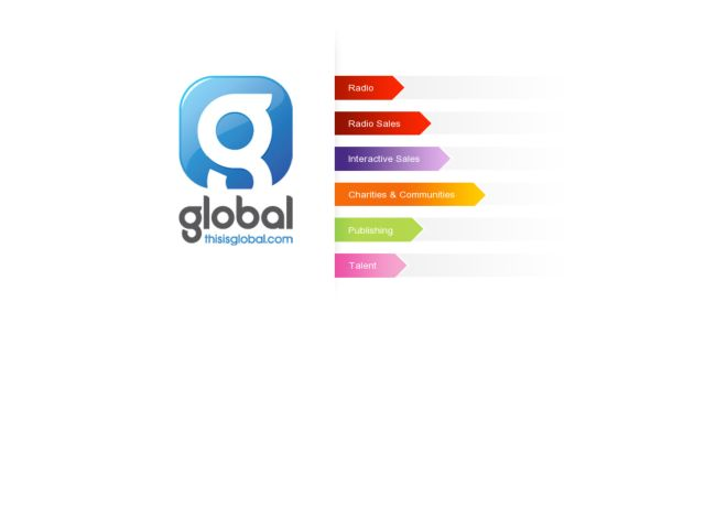 Global Radio Corporate Site