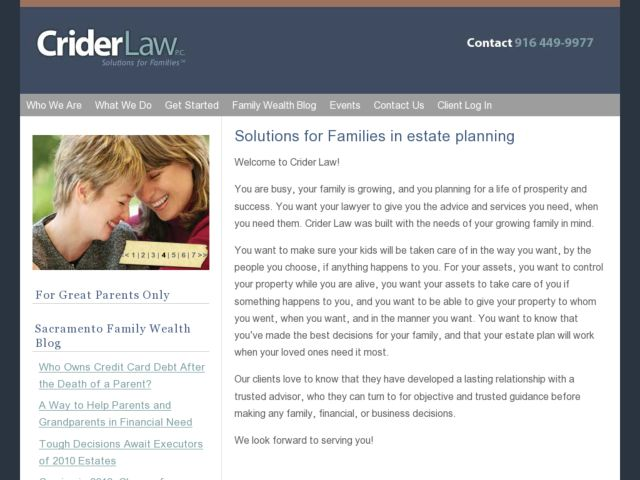 Crider Law