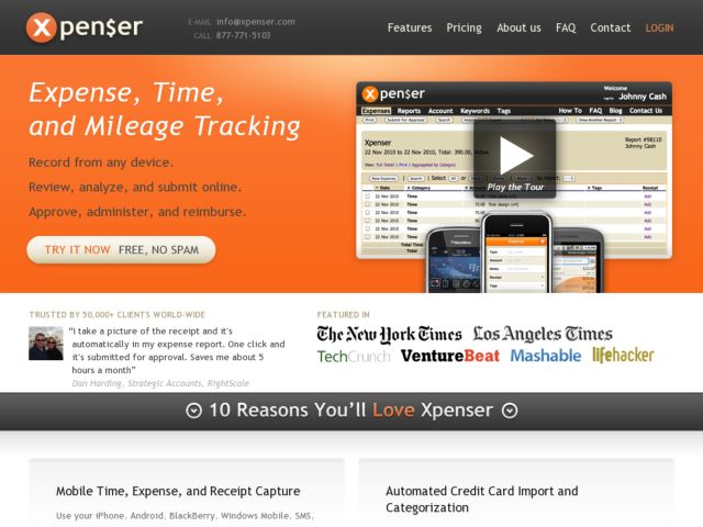 Xpenser - Fire-and-Forget  Expense Tracking
