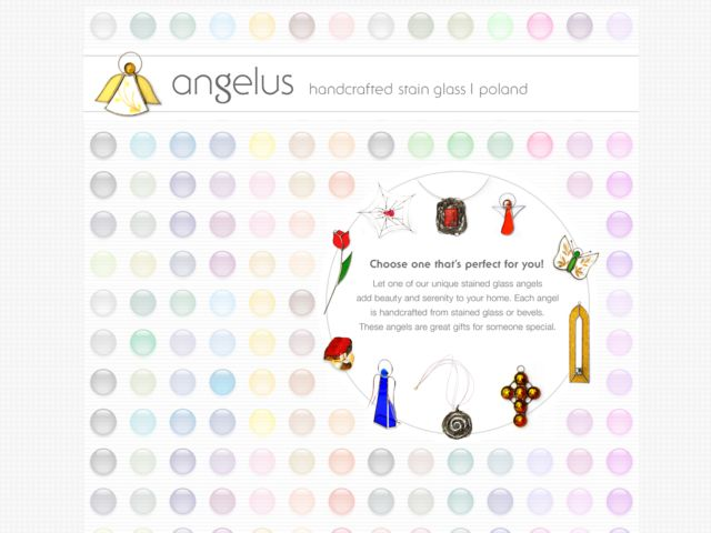 angelus - handcrafted stain glass
