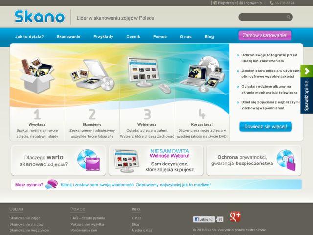 screenshot of Skano