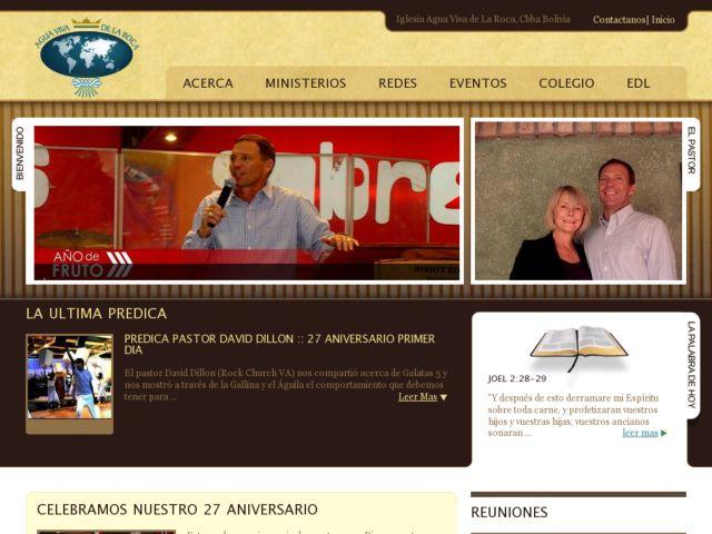 screenshot of Chucrch Agua Viva de la Roca