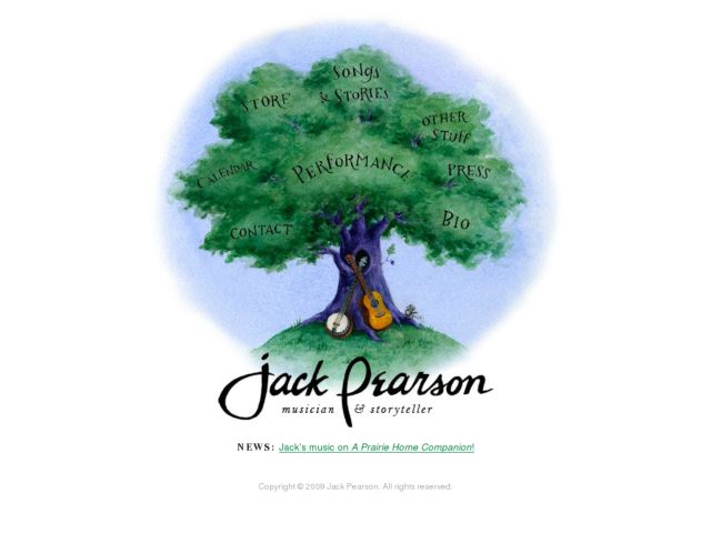 Jack Pearson: Musician and Storyteller