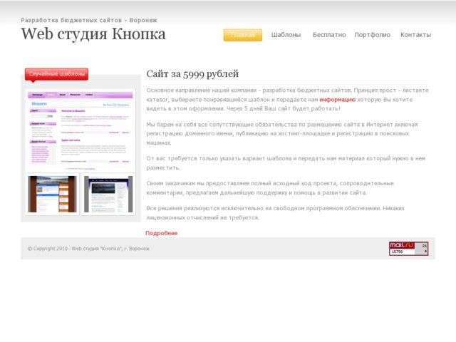 Web Studio Knopka