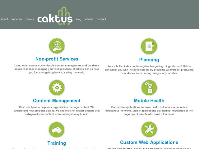 screenshot of Caktus Consulting Group , LLC