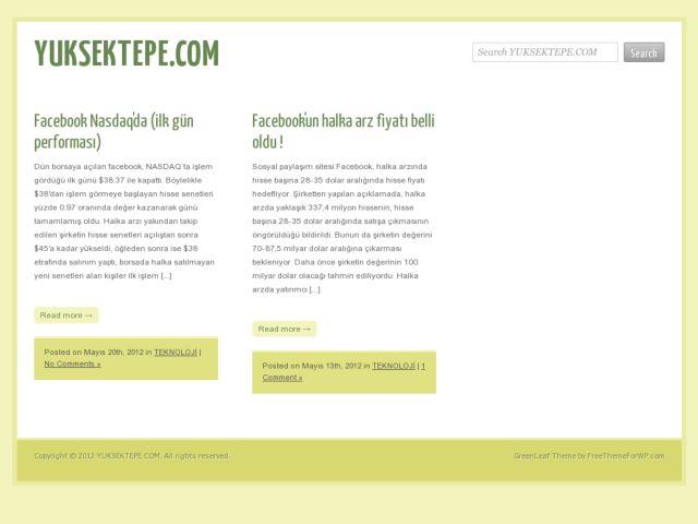 Yuksektepe.com