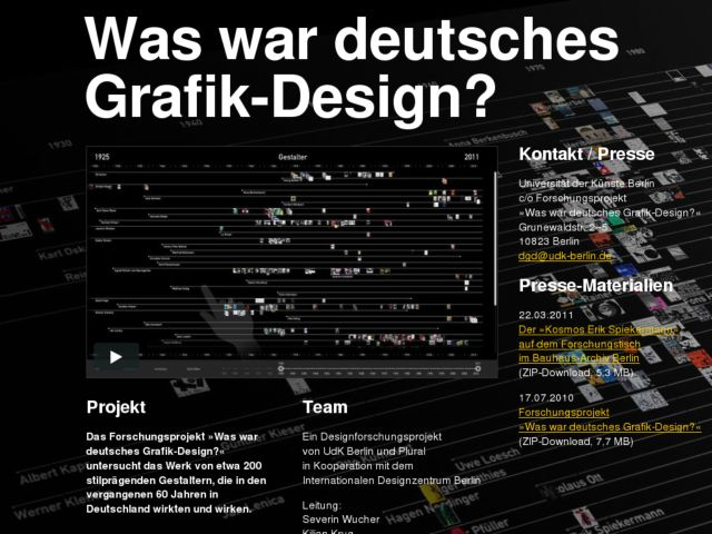 What is german grafic-design?