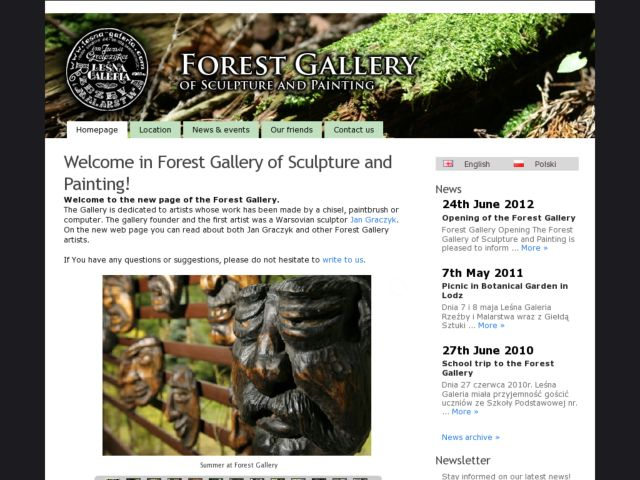 Forest Gallery of Sculpture