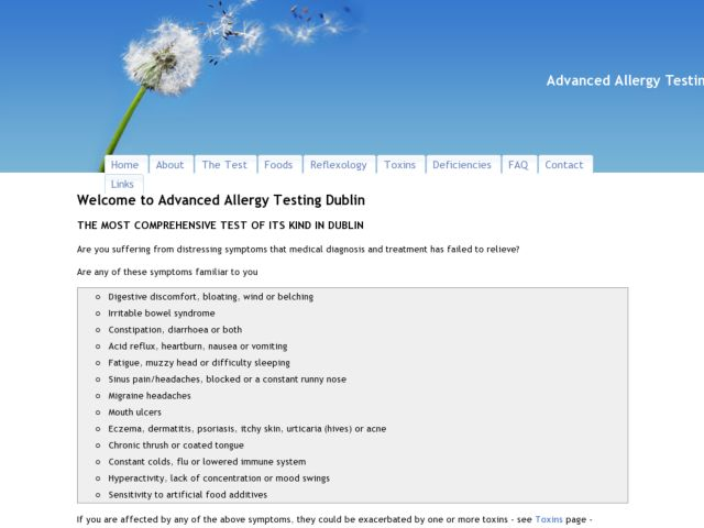 Advanced Allergy Testing
