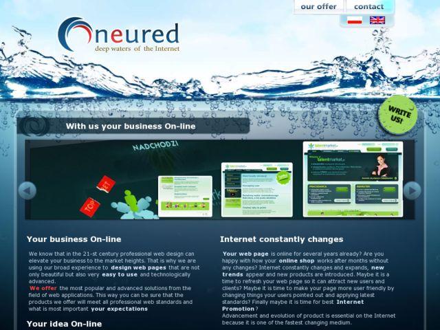 screenshot of Neured