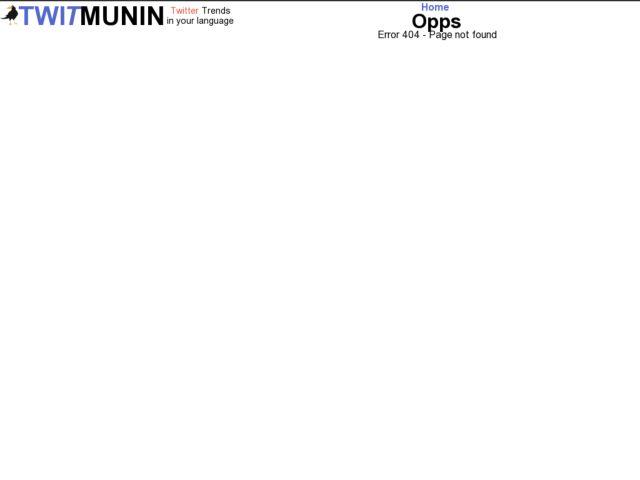 screenshot of Twitmunin